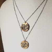 bronze necklaces